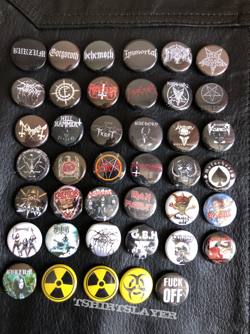 Button badge collection