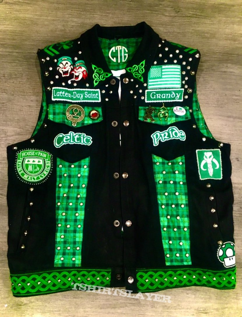 Irish and Celtic Punk Rock Battle Vest
