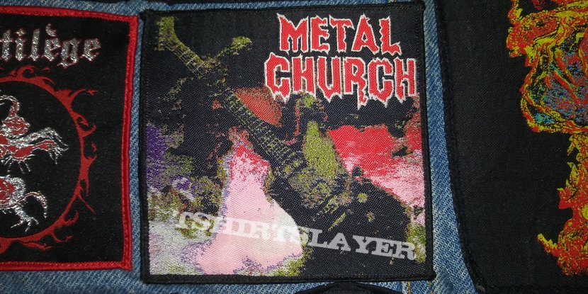 Metal Church S/T Woven patch