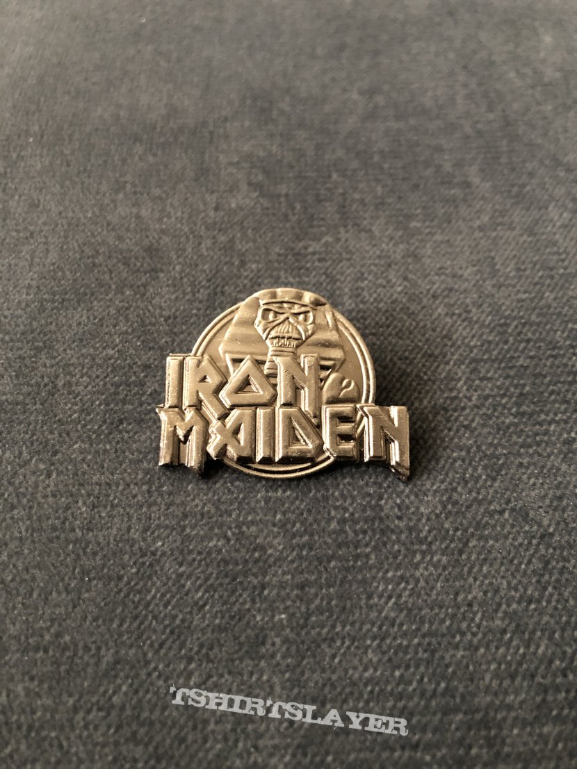 Iron Maiden - Somewhere Back in Time pin