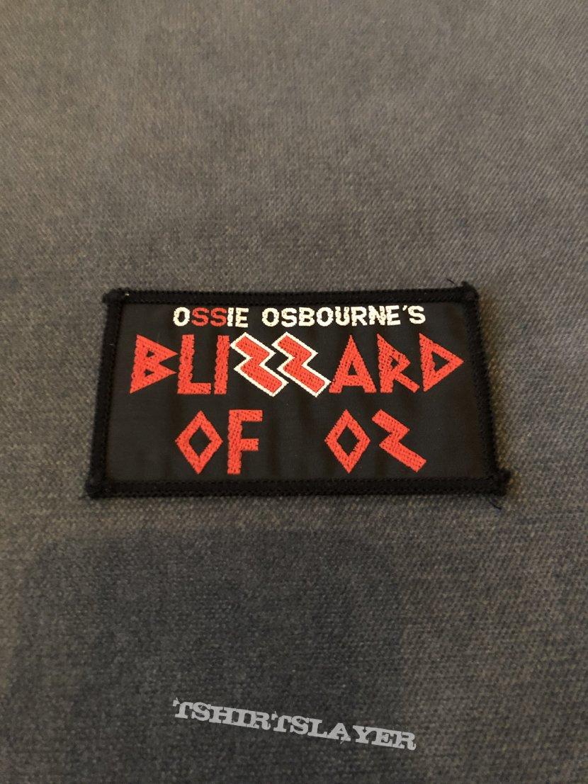 Ozzy Osbourne - Blizzard of Oz patch