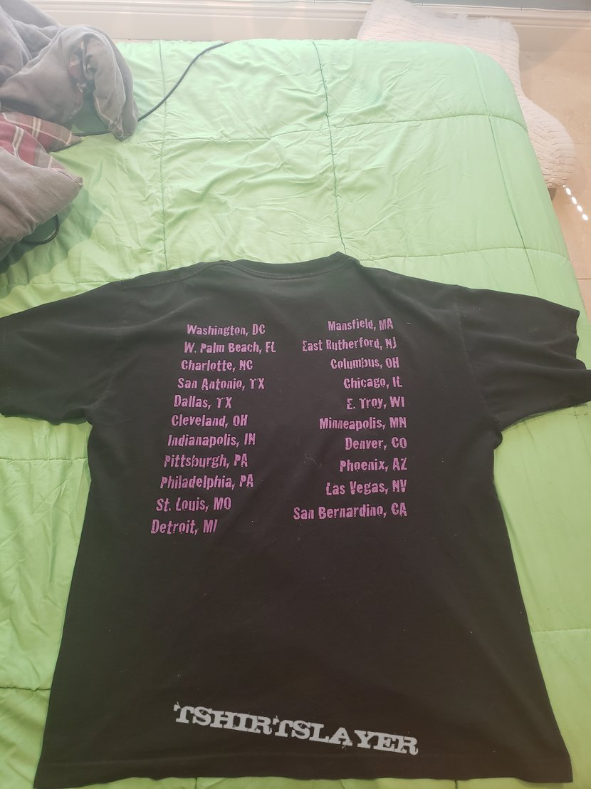 Black Sabbath 1999 Reunion tour T-shirt.