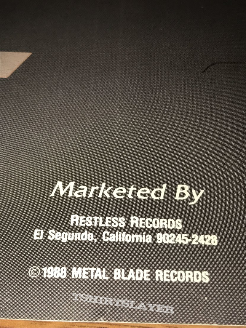 Viking / Dead End / Candlemass - Metal Blade Records - Promo Poster