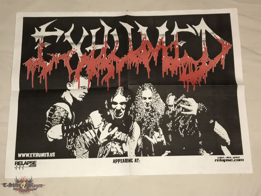 Exhumed - 2005 Tour Poster
