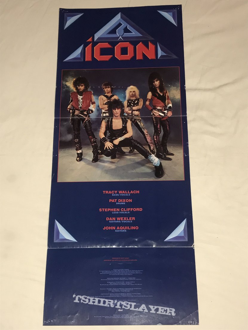 Icon - Capitol Records - Debut Album - Promotional Poster