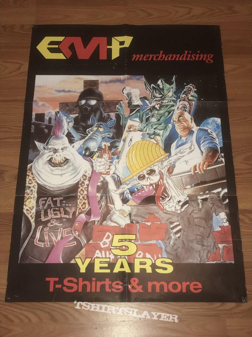 EMP Merchandising - 5 Year Anniversary - Poster