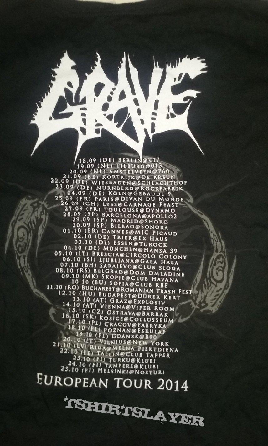 Grave - European Tour 2014