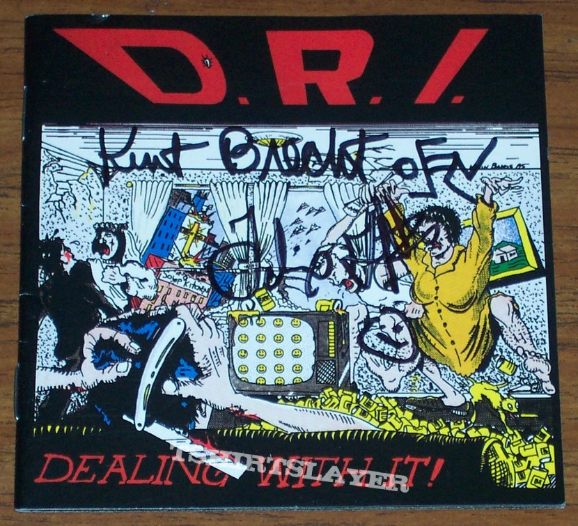 D.R.I. - Dealing With It! cd