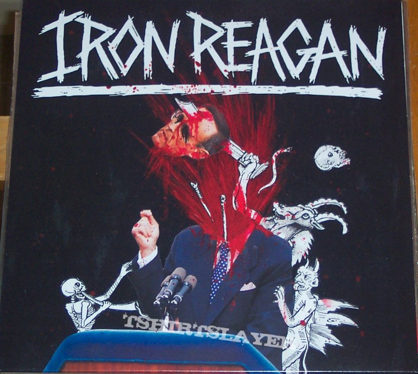 Iron Reagan - Tyranny Of Will vinyl lp