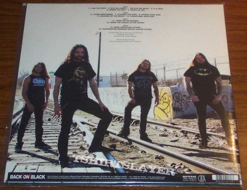 Havok - Unnatural Selection + Point Of No Return vinyl 2 x LP