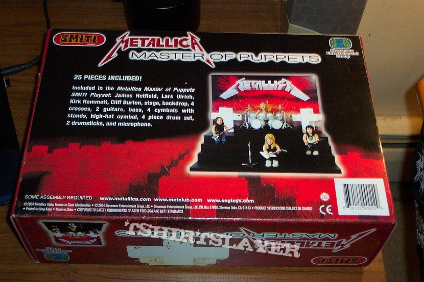 Metallica - Master of Puppets Smiti Playset