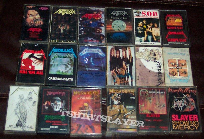 Original cassette tapes