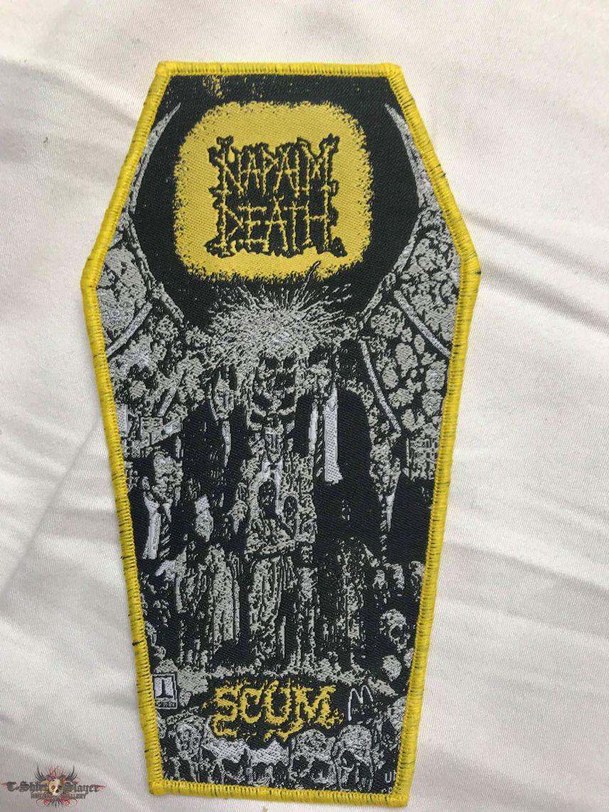 Napalm Death - Scum coffinpatch
