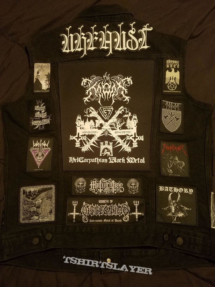 Second Black Metal Jacket