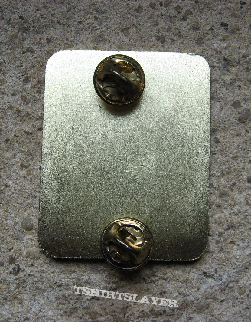 SLAYER South Of Heaven BIG original pin back