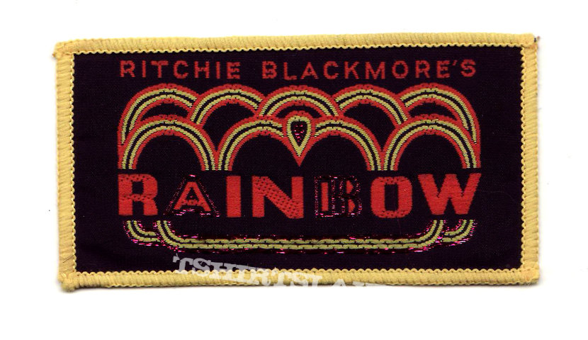 RAINBOW Ritchie Blackmore's Rainbow vintage woven patch *GONE*