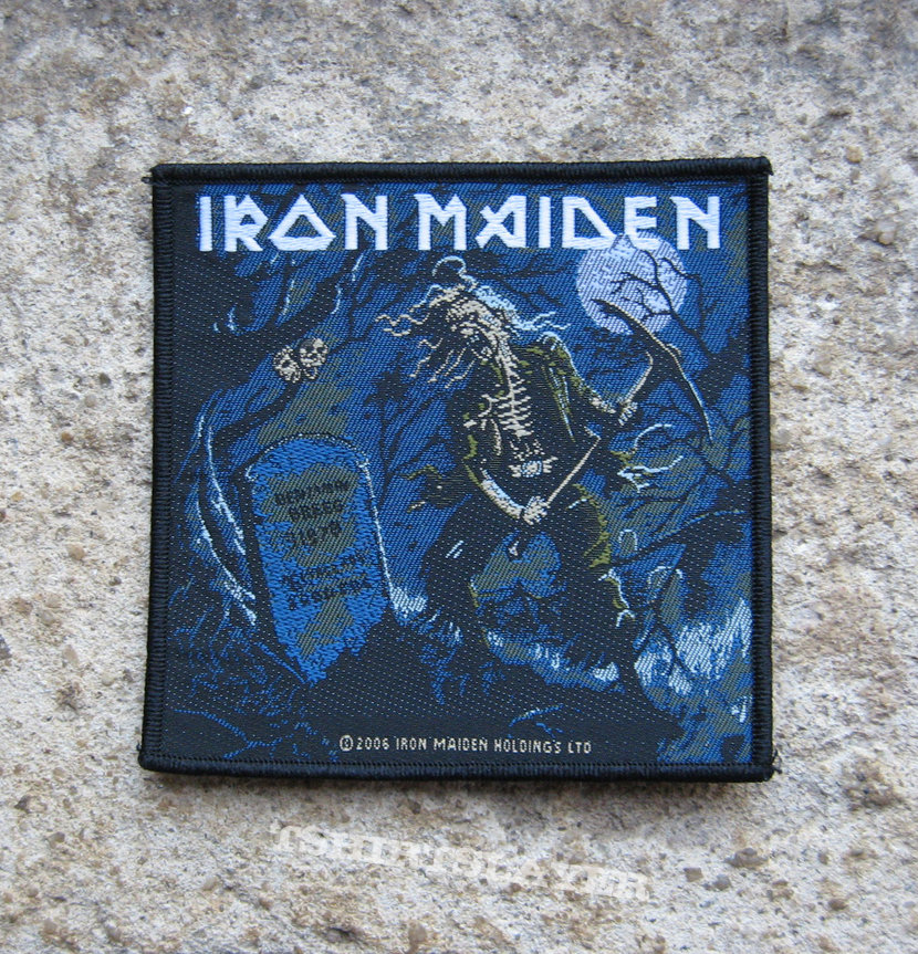 IRON MAIDEN The Reincarnation of Benjamin Breeg original woven patch