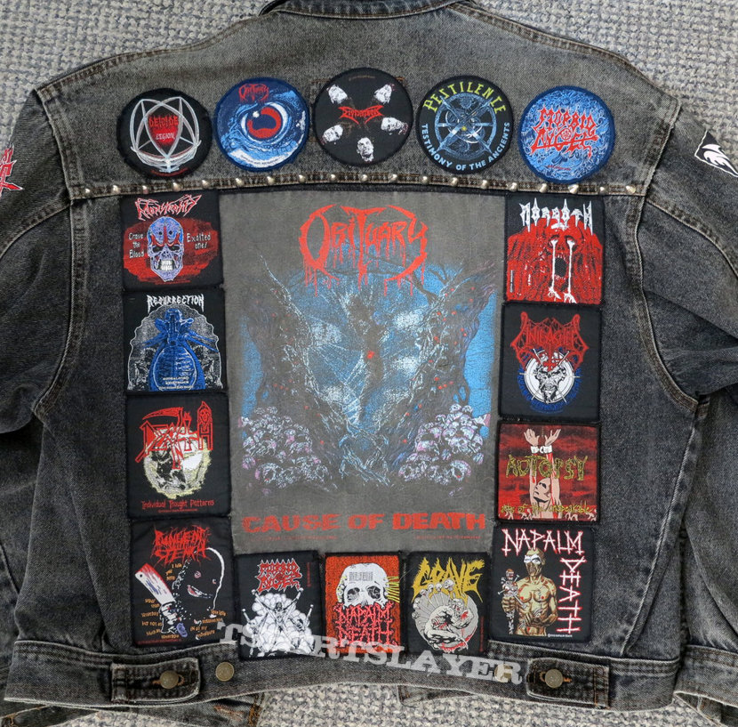 Death Metal jacket update