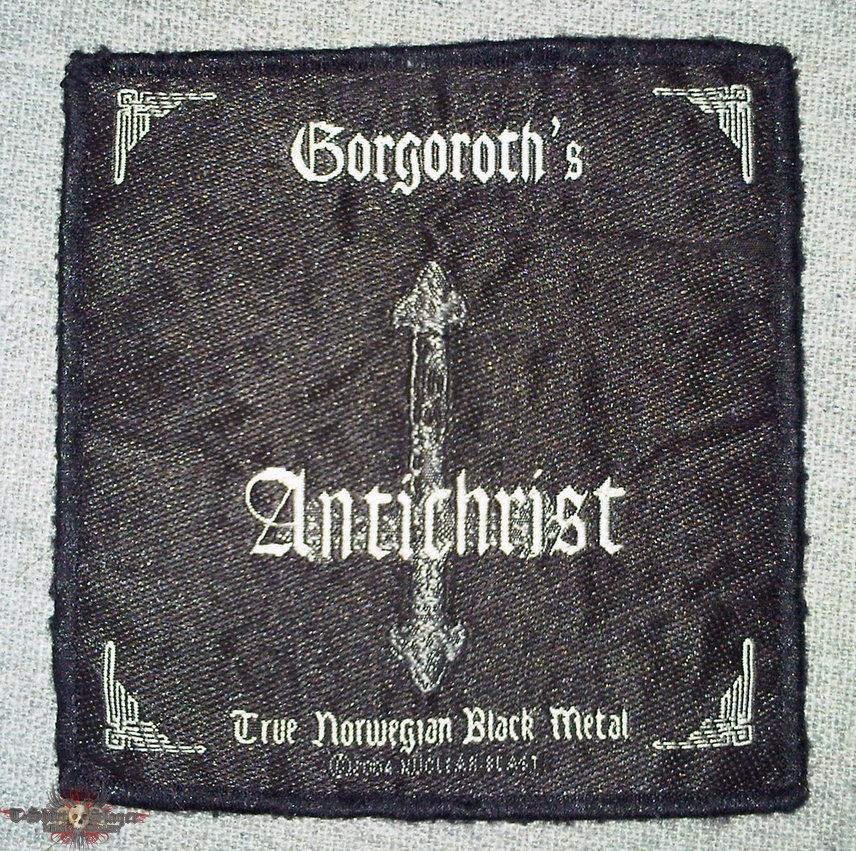 Gorgoroth patch antichrist