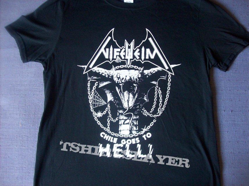 Nifelheim - Chile goes to Hell! event shirt