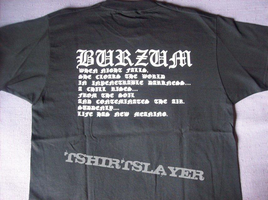 Burzum - s/t bootleg shirt