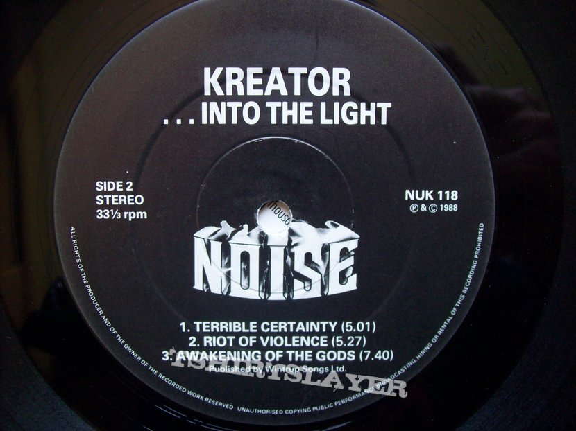 Kreator - Out of the Dark... into the Light ep