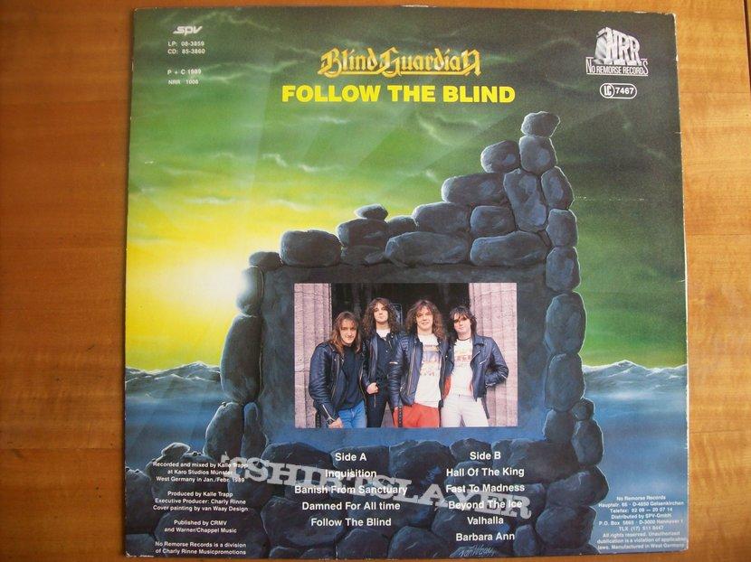 Blind Guardian - Follow the Blind LP