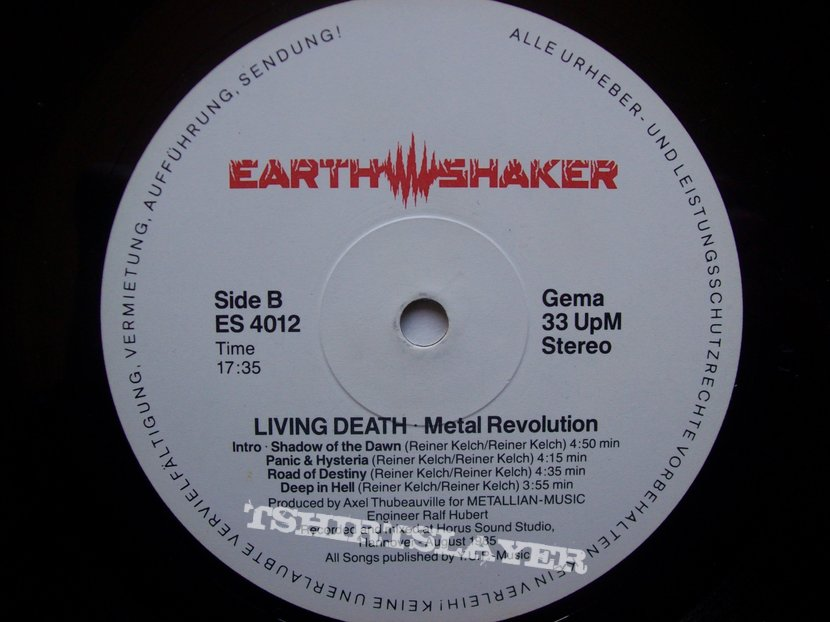 Living Death - Metal Revolution LP