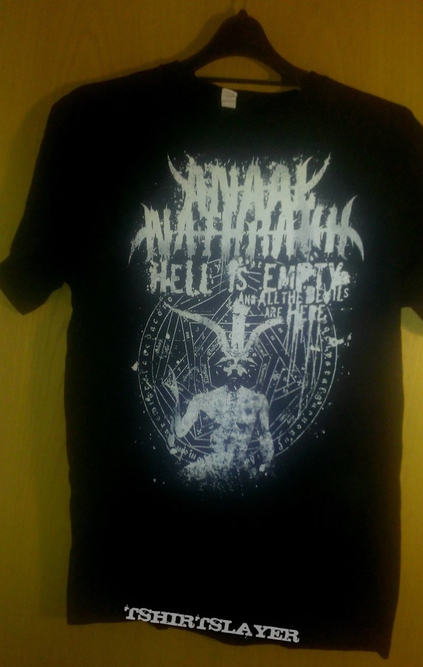 Anaal Nathrakh - Hell Is Empty And All the Devils Are Here Shirt