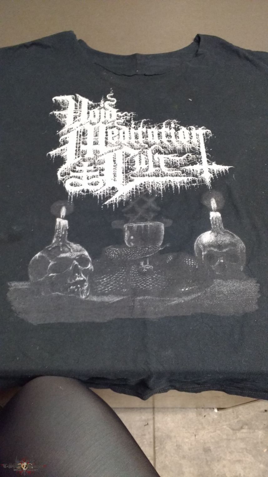 Void Meditation Cult - Sulfurous Prayers shirt