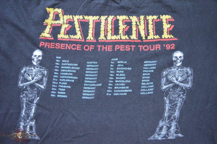 Pestilence - Testimony Of The Ancients / Presence Of The Pest tour original shirt