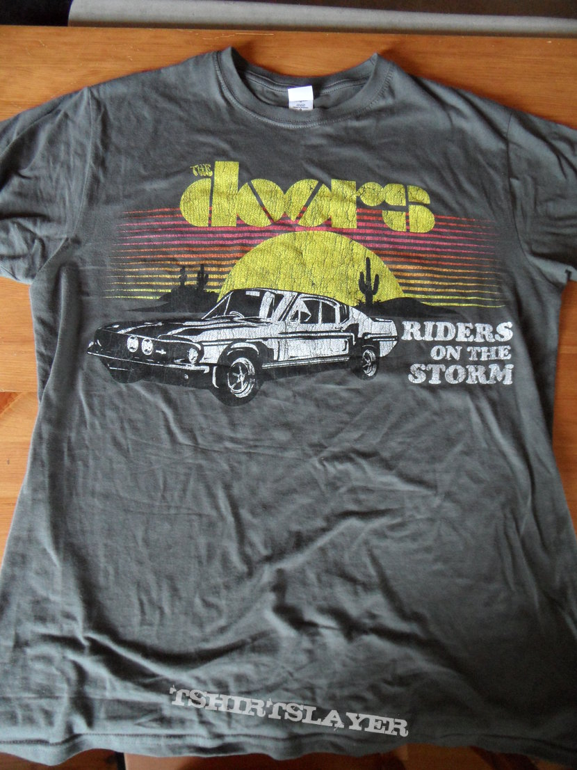 The Doors Riders On The Storm Shirt Tshirtslayer Tshirt And