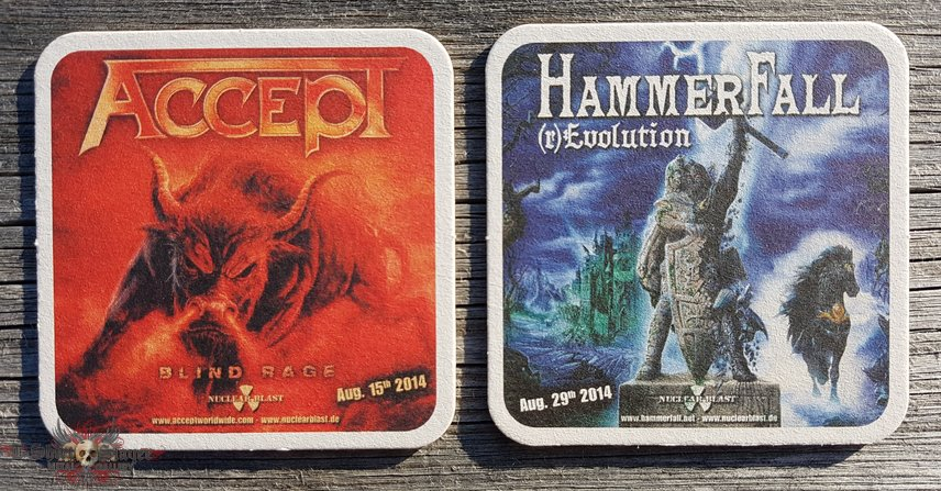 Accept - Blind Rage / Hammerfall - (r)Evolution coaster