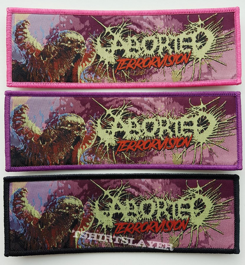 Aborted - Terrorvision patch