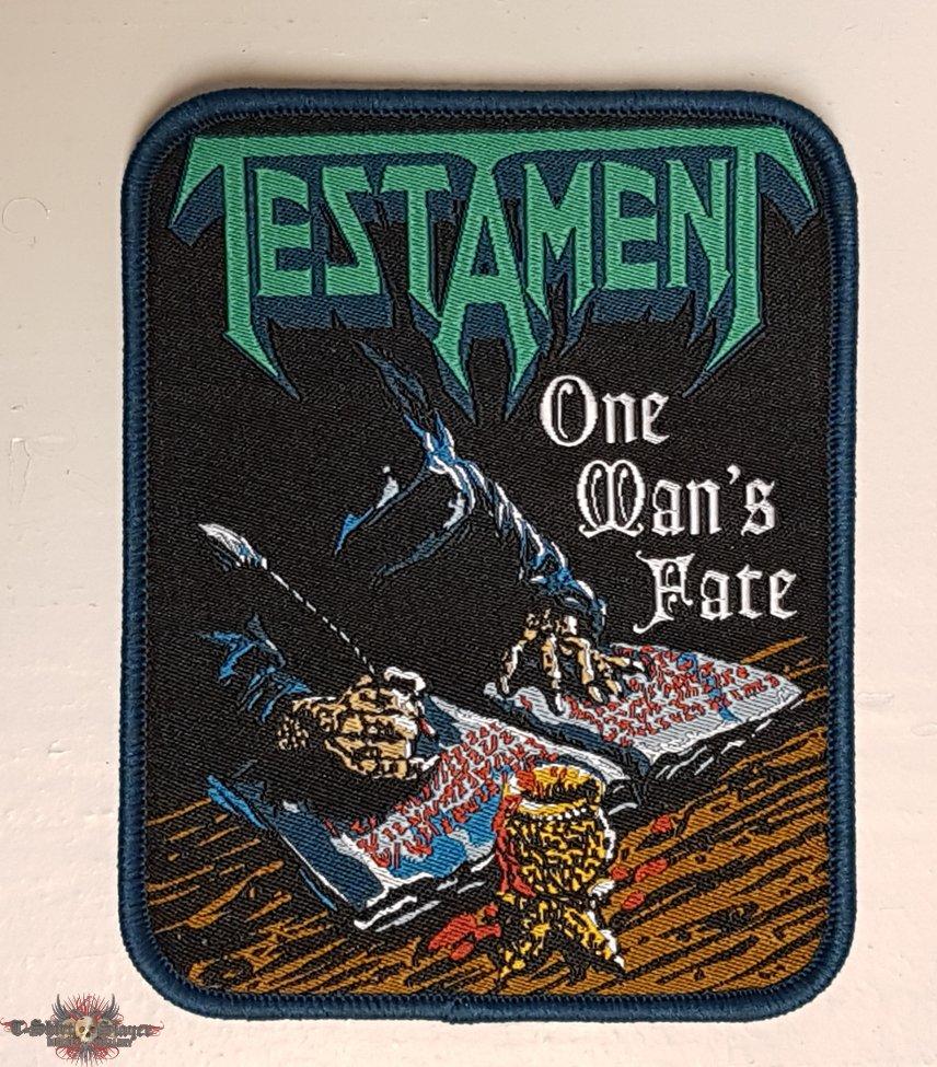 Testament - One Man's Fate patch