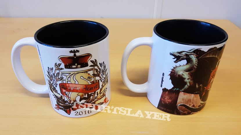 Royal Hunt - 2016 Live and Cast in Stone mugs