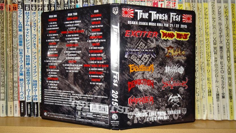 True Thrash Fest 2015 CD/DVD