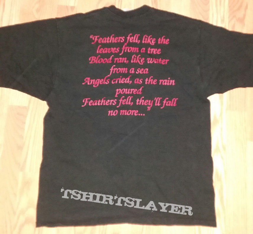 Dissection - Feathers Fell shirt