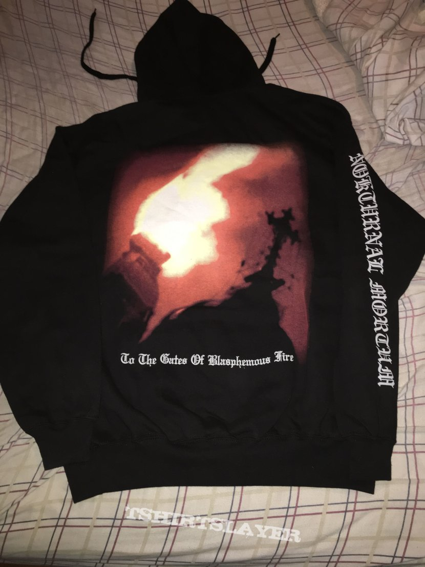 Nokturnal Mortum - To the Gates of Blasphemous Fire hoodie