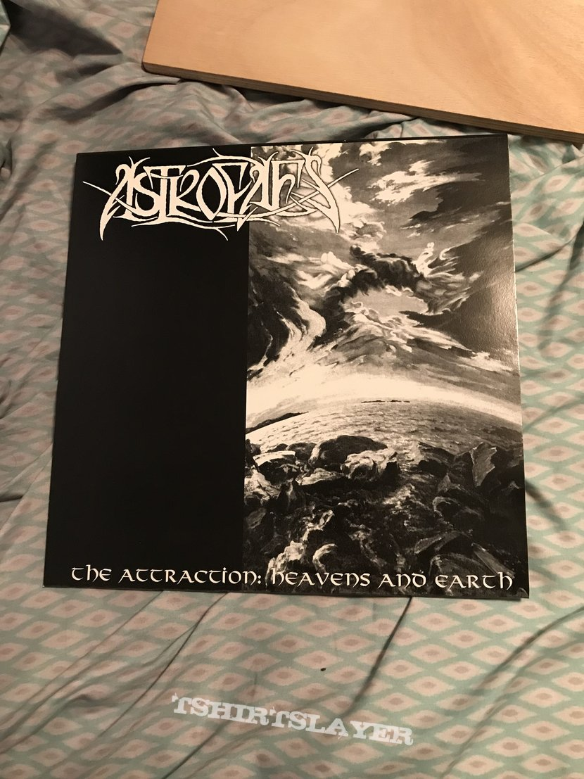 Astrofaes - The Attraction: Heavens and Earth LP