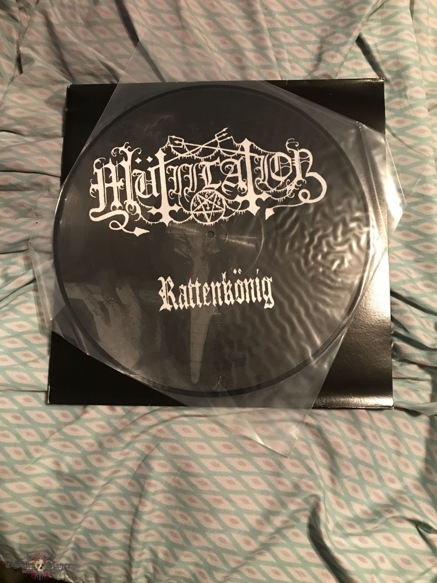 Mutiilation - Rattenkonig pic LP first press