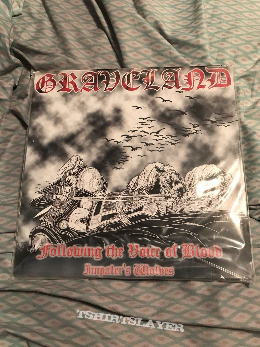 Graveland - Following the Voice of Blood LP first press