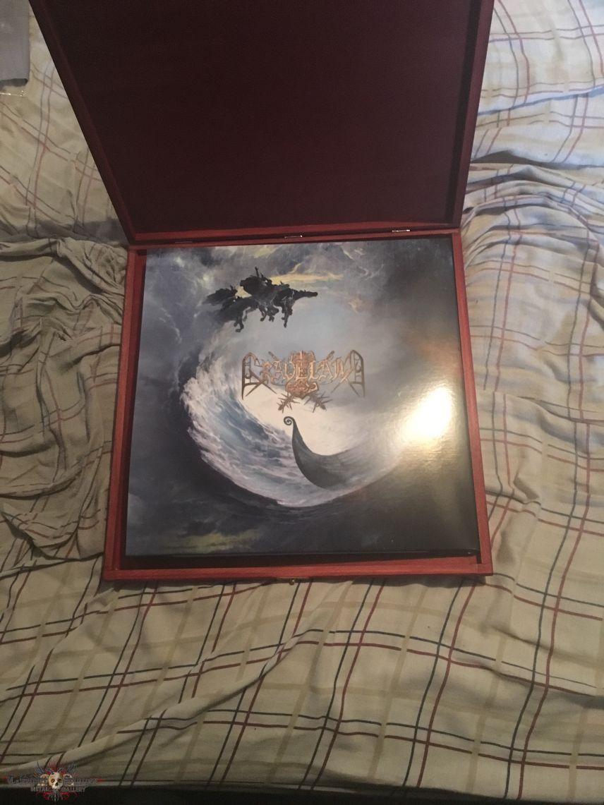 Nokturnal Mortum/Graveland - The Spirit Never Dies red wooden box