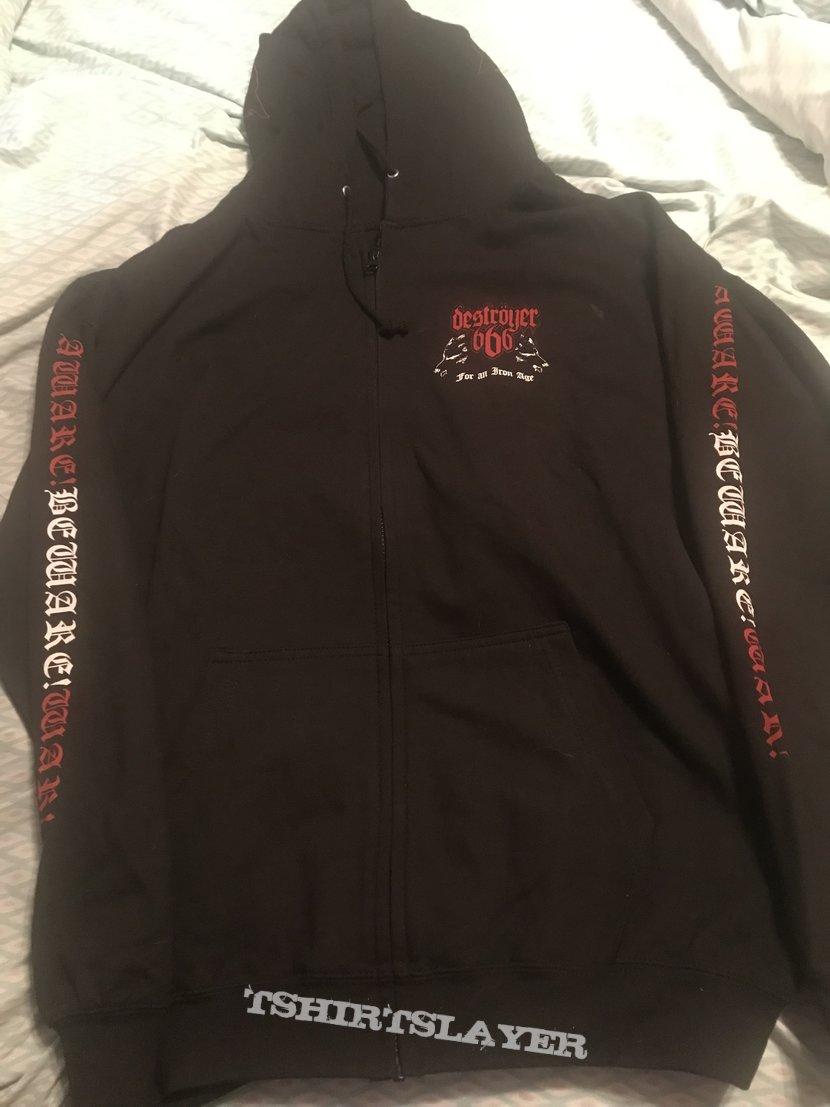 Destroyer 666 - Cold Steel hoodie