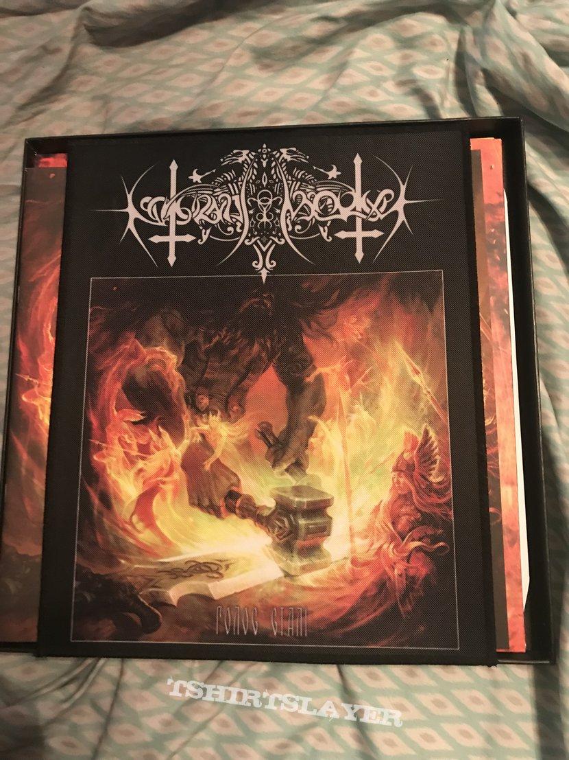 Nokturnal Mortum - The Voice of Steel 3LP wooden box black