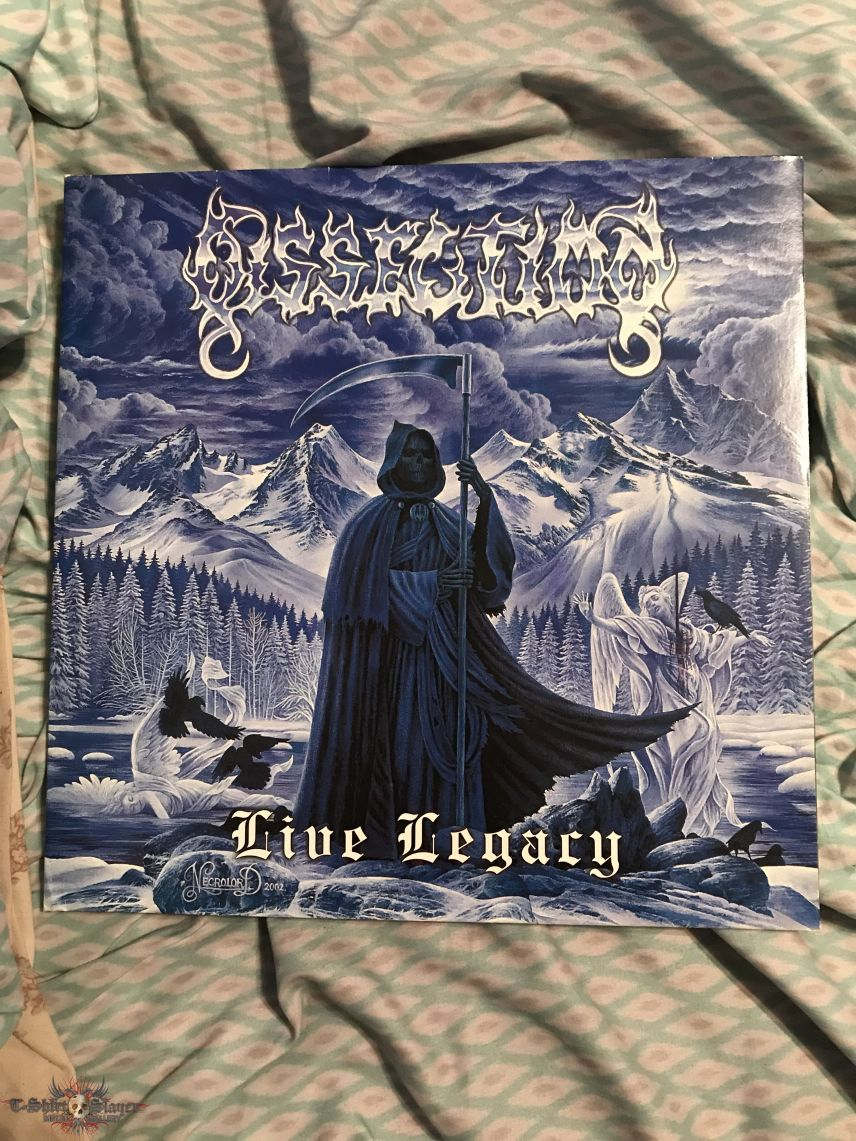 Dissection - Live Legacy LP first press