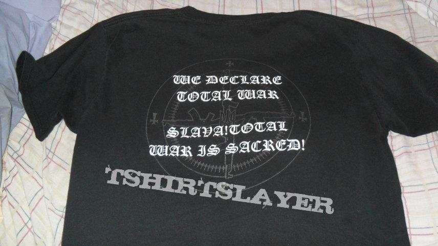 Nokturnal Mortum - We Declare Total War shirt