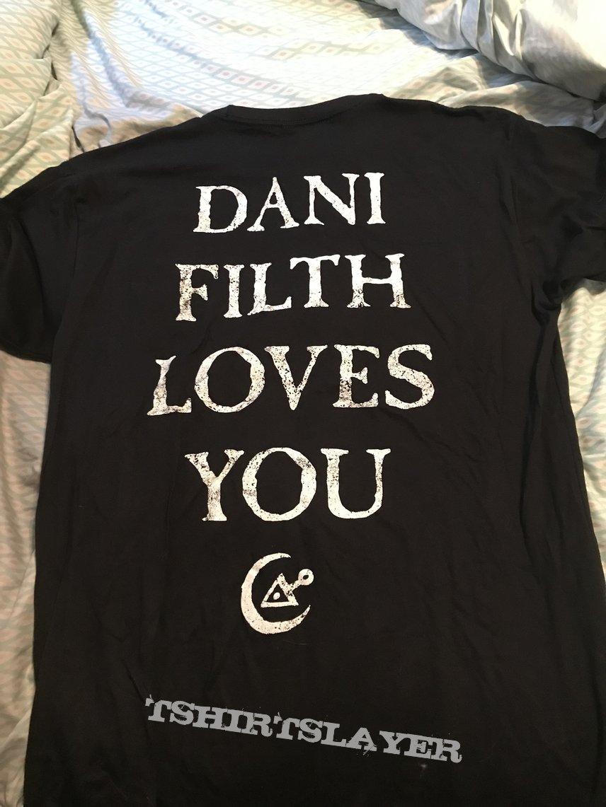 Cradle of Filth - Dani Filth Loves You shirt