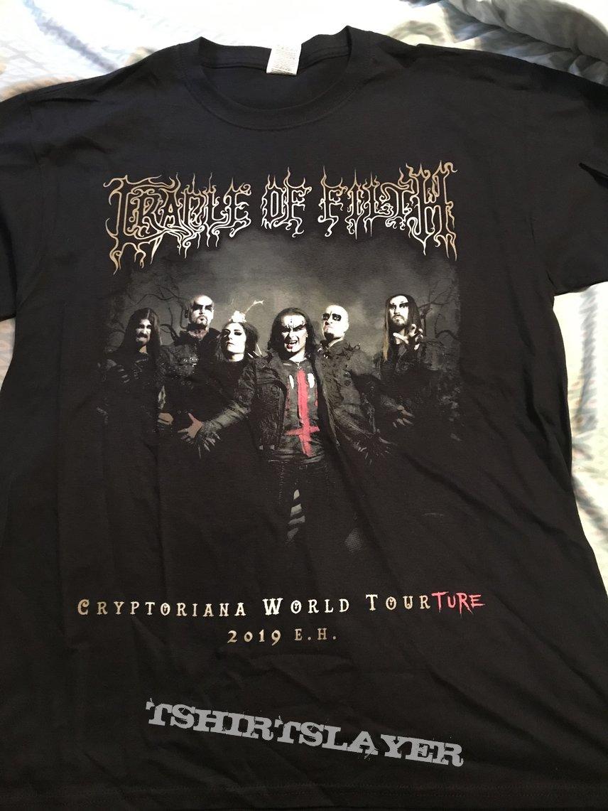 Cradle of Filth - Cryptoriana North American Tourture 2019 shirt