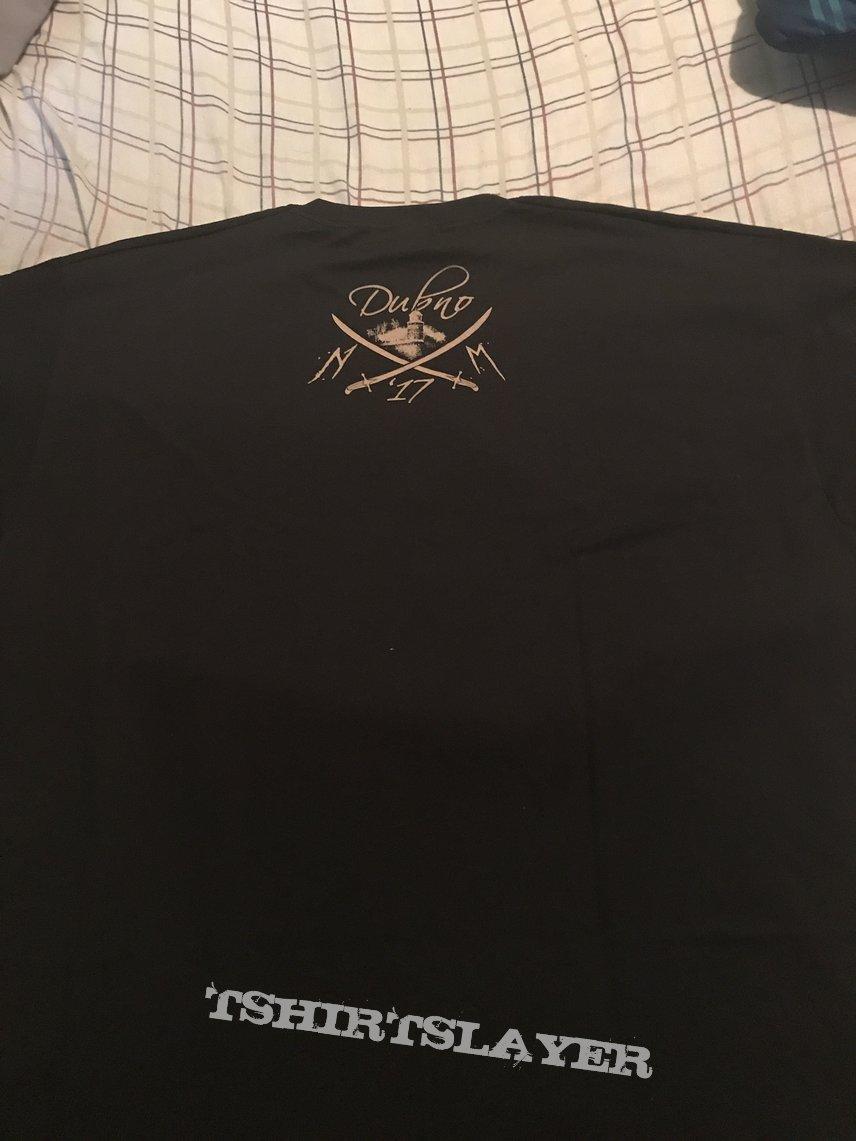 Nokturnal Mortum - Dubno 2017 event shirt